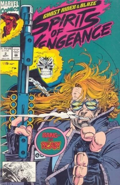 Ghost Rider Blaze: Spirits of Vengeance (1992) no. 2 - Used
