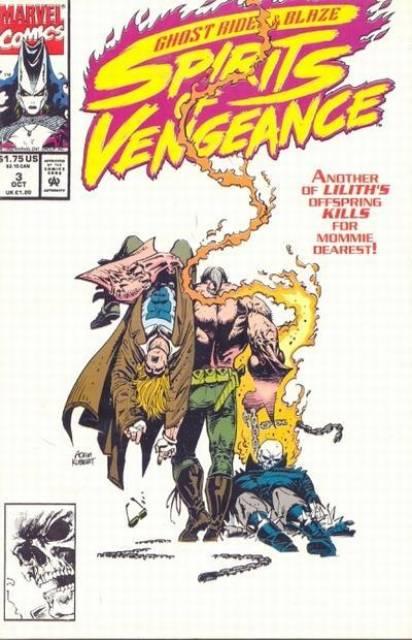 Ghost Rider Blaze: Spirits of Vengeance (1992) no. 3 - Used