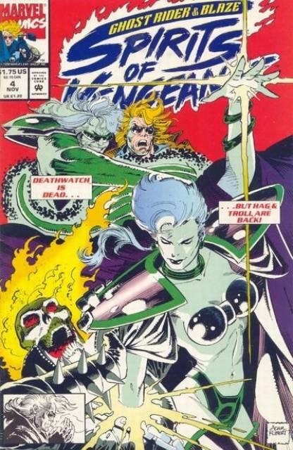 Ghost Rider Blaze: Spirits of Vengeance (1992) no. 4 - Used