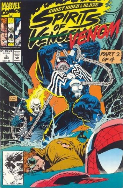 Ghost Rider Blaze: Spirits of Vengeance (1992) no. 5 - Used