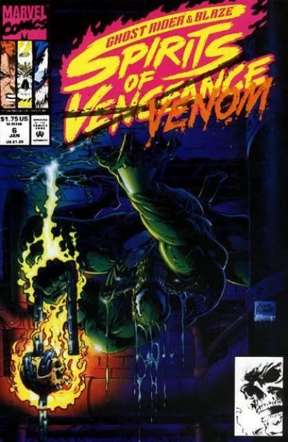 Ghost Rider Blaze: Spirits of Vengeance (1992) no. 6 - Used