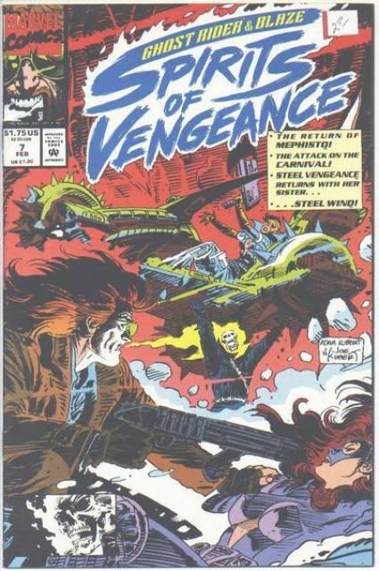 Ghost Rider Blaze: Spirits of Vengeance (1992) no. 7 - Used