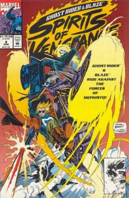 Ghost Rider Blaze: Spirits of Vengeance (1992) no. 8 - Used
