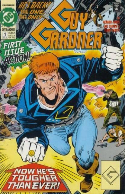 Guy Gardner: Warrior (1992) no. 1 - Used