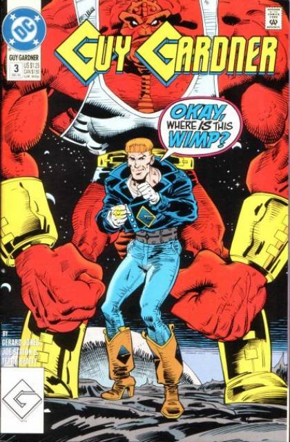 Guy Gardner: Warrior (1992) no. 3 - Used