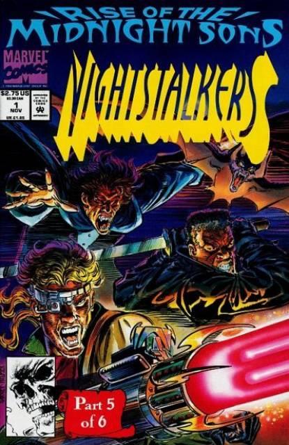 Nightstalkers (1992) no. 1 - Used