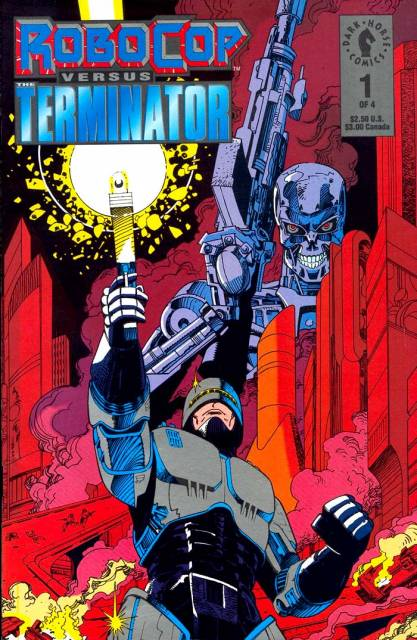 Robocop Versus The Terminator (1992) Complete Bundle - Used