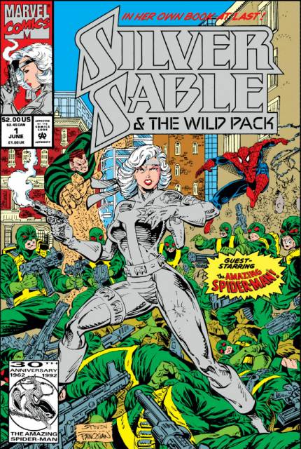 Silver Sable and the Wild Pack (1992) no. 1 - Used
