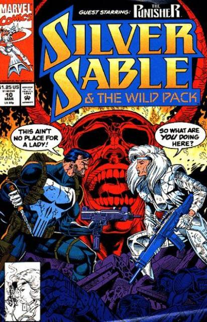 Silver Sable and the Wild Pack (1992) no. 10 - Used