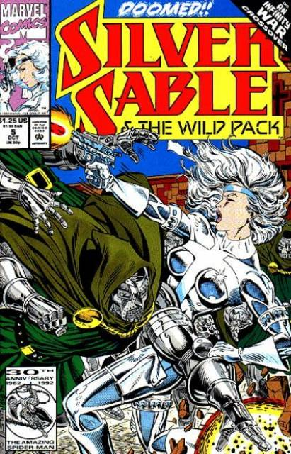 Silver Sable and the Wild Pack (1992) no. 5 - Used