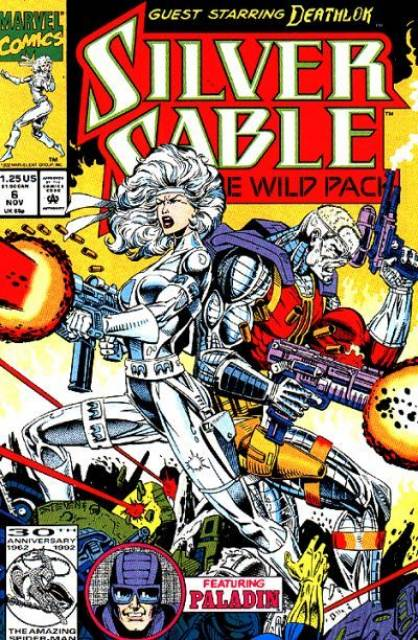 Silver Sable and the Wild Pack (1992) no. 6 - Used