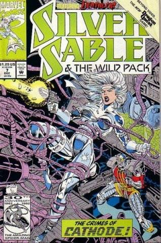 Silver Sable and the Wild Pack (1992) no. 7 - Used