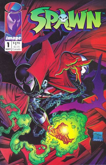 Spawn (1992) no. 1 - Used