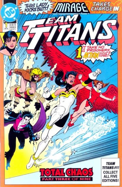 Team Titans (1992) no. 1 - Used