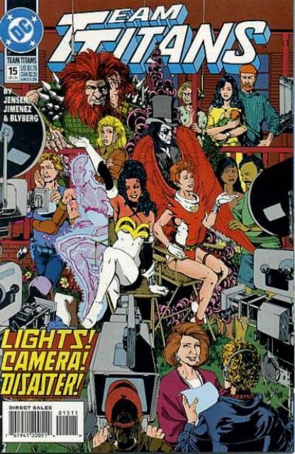 Team Titans (1992) no. 15 - Used