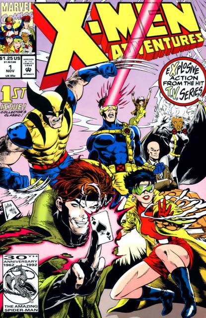 X-Men Adventures (1992) no. 1 - Used
