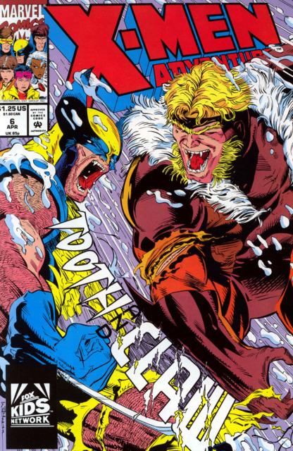 X-Men Adventures (1992) no. 6 - Used