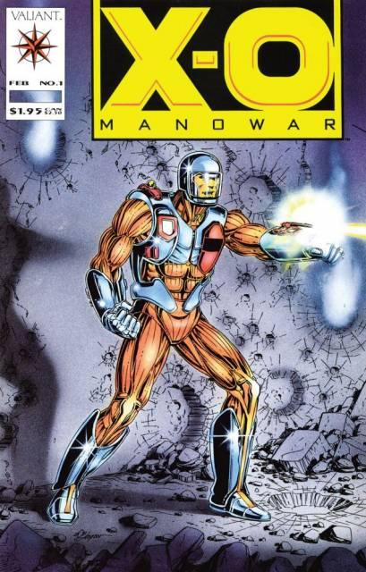 X-O Manowar (1992) no. 1 - Used