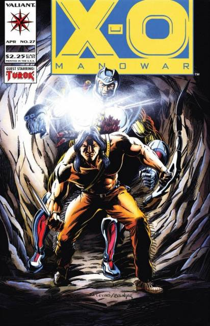 X-O Manowar (1992) no. 27 - Used
