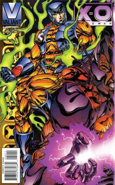 X-O Manowar (1992) no. 50 - X - Used