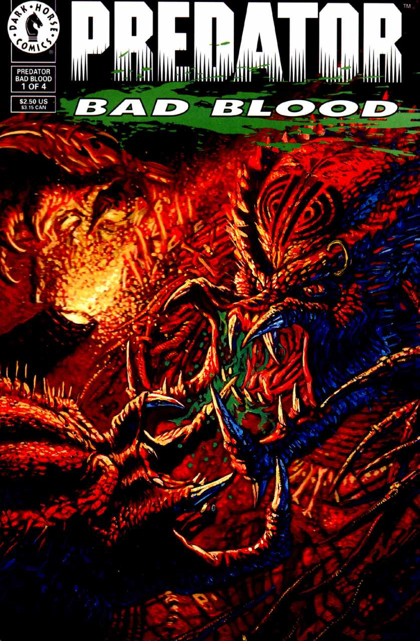 Predator Bad Blood (1993) Complete Bundle - Used