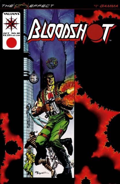Bloodshot (1993) no. 20 - Used