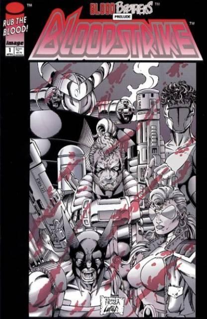 Bloodstrike (1993) no. 1 - Used