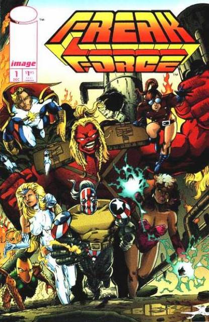 Freak Force (1993) no. 1 - Used