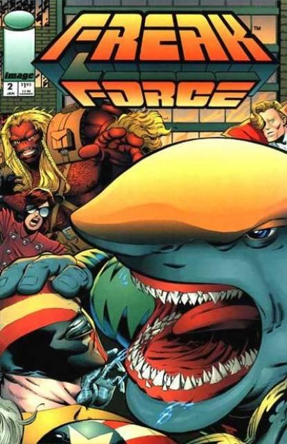 Freak Force (1993) no. 2 - Used