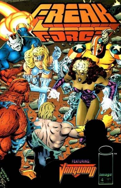 Freak Force (1993) no. 4 - Used