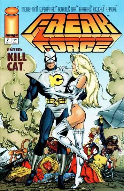 Freak Force (1993) no. 7 - Used