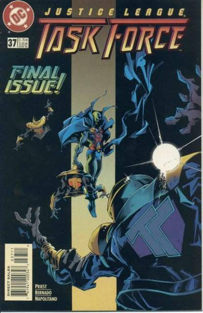 Justice League Task Force (1993) no. 37 - Used