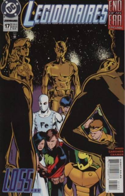 Legionnaires (1993) no. 17 - Used