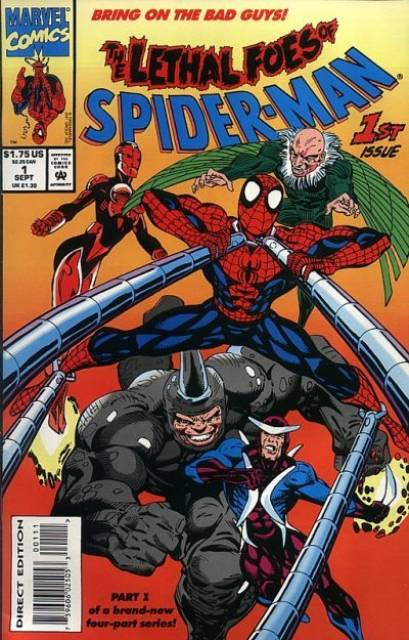 The Lethal Foes of Spider-Man (1993) Complete Bundle - Used