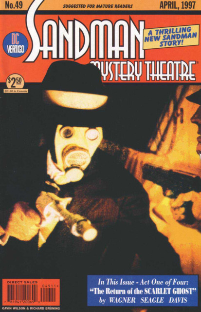 Sandman Mystery Theatre (1993) no. 49 - Used