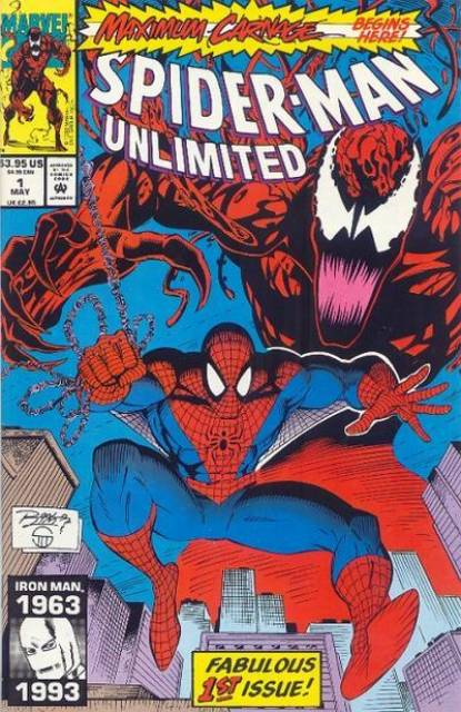 Spider-Man Maximum Carnage (1993) Complete Story Bundle (1-14) - Used