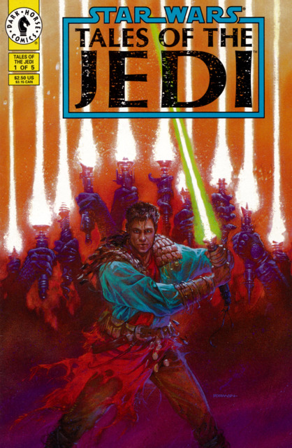Star Wars: Tales of the Jedi (1993) Complete Bundle - Used