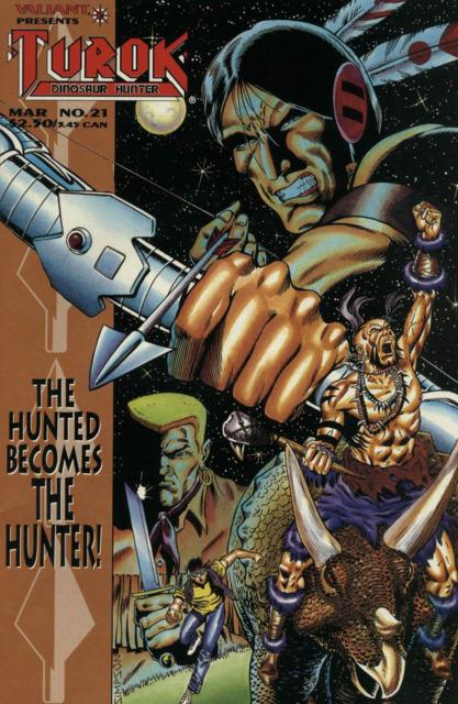 Turok Dinosaur Hunter (1993) no. 21 - Used