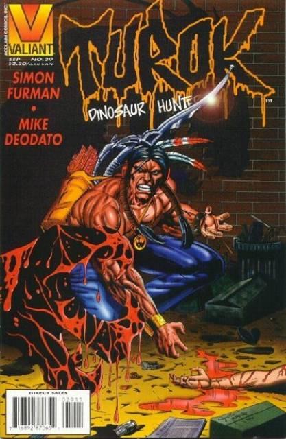 Turok Dinosaur Hunter (1993) no. 29 - Used