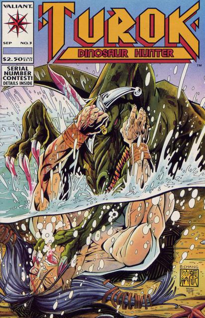 Turok Dinosaur Hunter (1993) no. 3 - Used