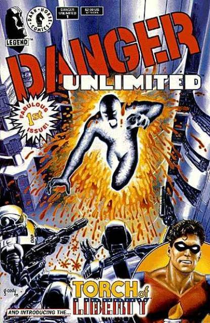 Danger Unlimited (1994) Complete Bundle - Used