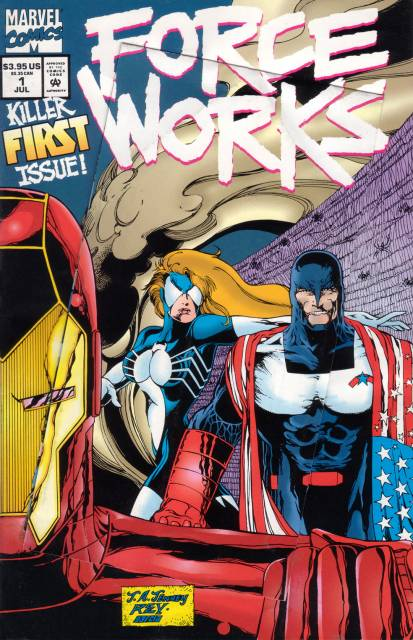 Force Works (1994) no. 1 - Used
