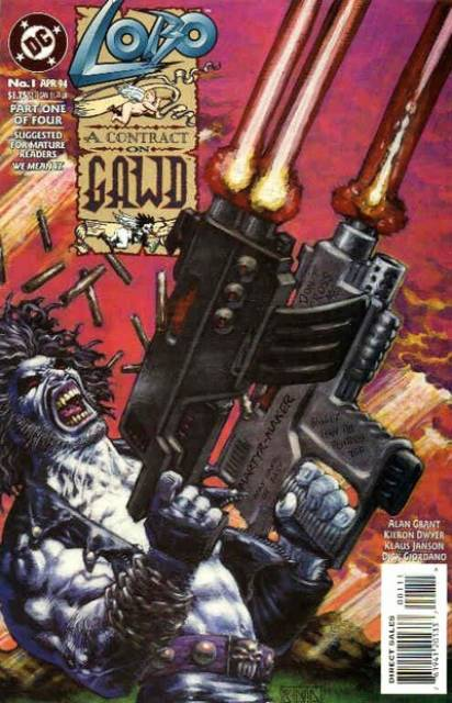 Lobo: A Contract on Gawd (1994) Complete Bundle - Used