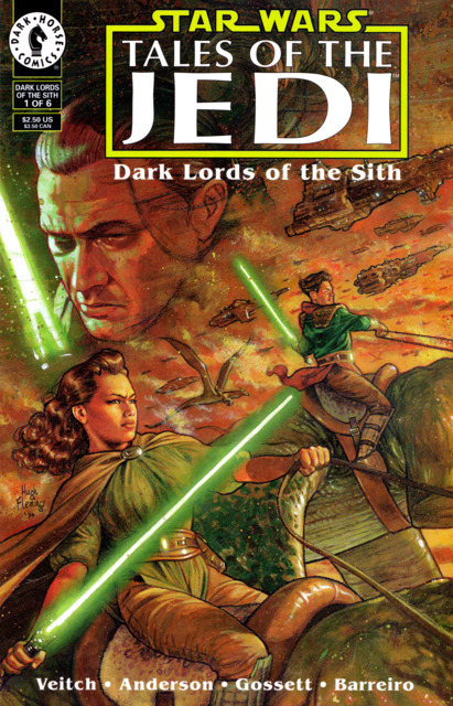 Star Wars: Tales of the Jedi: Dark Lords of the Sith (1994) Complete Bundle - Used