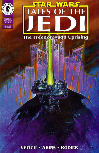 Star Wars: Tales of the Jedi: The Freedon Nadd Uprising (1994) Complete Bundle - Used