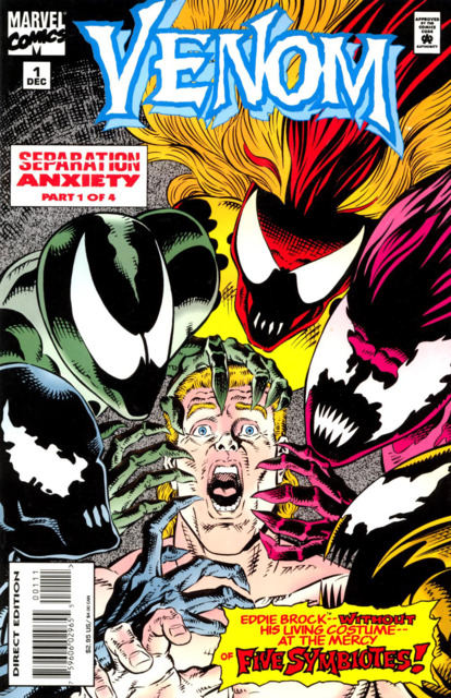 Venom: Separation Anxiety (1994) Complete Bundle - Used