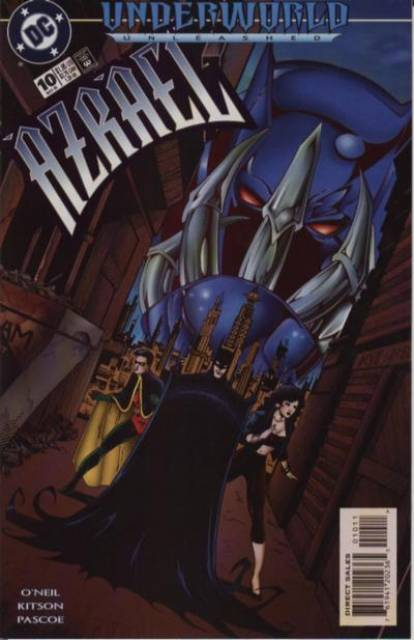 Azrael Agent of the Bat (1995) no. 10 - Used