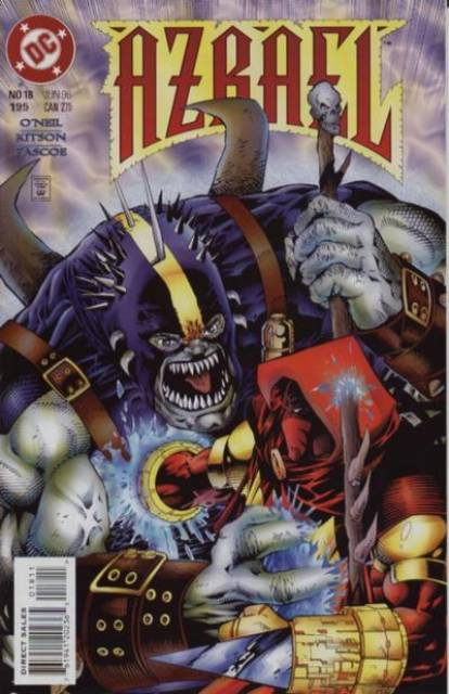Azrael Agent of the Bat (1995) no. 18 - Used