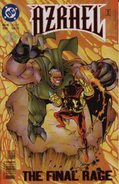 Azrael Agent of the Bat (1995) no. 20 - Used
