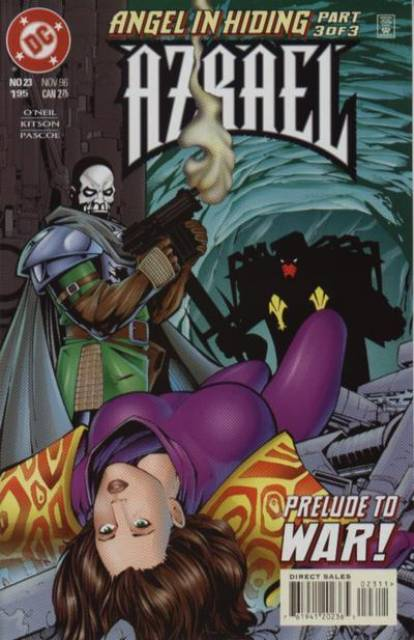 Azrael Agent of the Bat (1995) no. 23 - Used